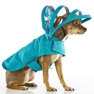 Hooded Rain Coat | Teal