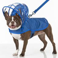 Hooded Rain Coat | Royal Blue
