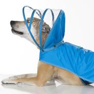 Hooded Rain Coat | Light Blue