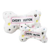 Bone Dog Toy   Chewy White