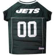 New York Jets Dog Jersey  - White Trim