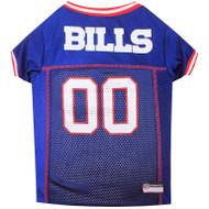 Buffalo Bills Dog Jersey  - Red Trim