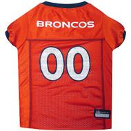 Denver Broncos Dog Jersey  - Orange