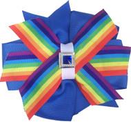 Pinwheel Collar Bud   Pride