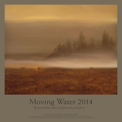 The Limited Edition Moving Water Poster
