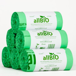 8 Litre Compostable Caddy Liners - 150 Liners