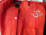 Cori Collection - Hand Dyed and Painted Kurta - OM's Everywhere - Womens' S/Ml