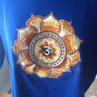 Tee Shirts - Blue AUM - L
