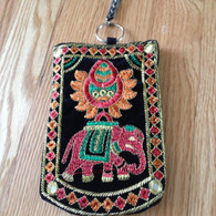 Indian clip on cell phone case - Black - Free with $50 purchase