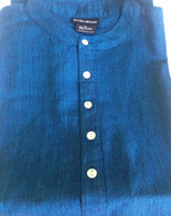 ALL NEW 100% Cotton Kurta Shirts in BLUE (UNISEX) - M/L/XL