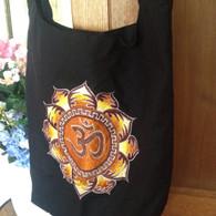 Indian Black Gold Shoulder Bag