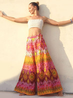 All New Bell Bottoms - Palazzo Wide Leg Pant - Rainbow - One Size M/L/XL