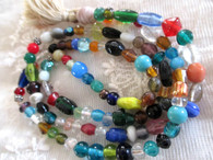 Japa Mala Prayer Beads - Natural Rings