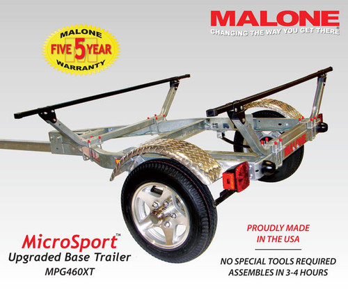 Fully Assembled Microsport XT trailer