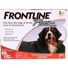Frontline Plus - 3 Pack Extra Large Dog