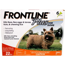Frontline Plus - 6 Pack Small Dogs
