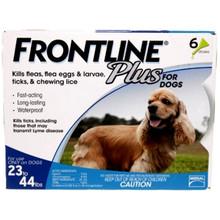 Frontline Plus - 6 Pack Medium Dogs