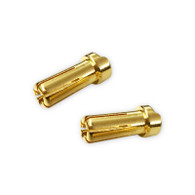 5mm Ultra Low Resistance Male Plug (Gold) 2pcs.