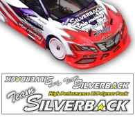 Team Silverback Hologram Sticker Sheet (4pcs.) - D0001