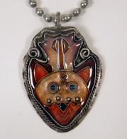 Cloisonne Deer Pendant