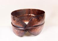 MM156 - Folded Copper Cuff