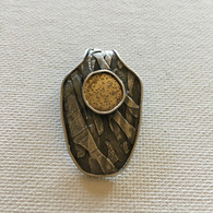 Sterling and Gold Fused Pendant