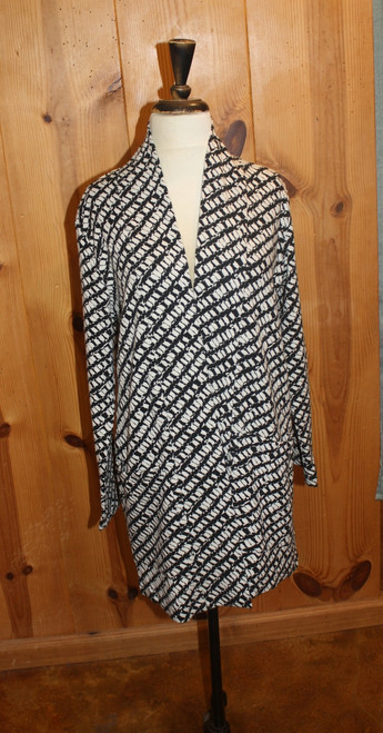 Komil CottonNopi Weave Long Open Coat
