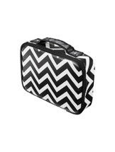Make a statement on weekends away with the small chevron printed Stylist Case.