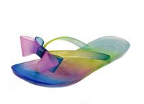 Luckers Girl Cinderella Tie-Die Jelly Bows Flip Flops