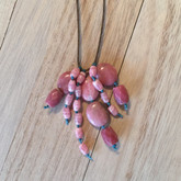 Pink Cascade Necklace
