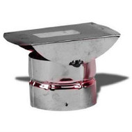 "VP-HC Metal Best VP Pellet Chimney Horizontal Termination In 3"" Diameter"