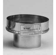 "VP-A6 Selkirk Metal Best VP Pellet Chimney 6"" SS Adapter In 4"" Diameter"