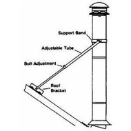 "8T-RBK Selkirk Metal Best Ultra Temp Roof Brace Kit in 8"" diameter"