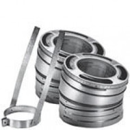"6DP-E30KSS 6"" Dura-Vent Dura/plus 30 Deg Stainless Steel Elbow Kit"