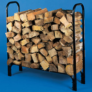 "10804 Small Log Rack, Holds 1/4 Cord 46""h x 14""d x 45""l, 8.5"" legs"