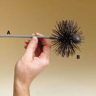 "3573256 5"" Round Pellet Brush"