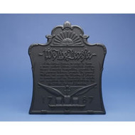 70128 Pennsylvania We The People Cast-Iron Fireback