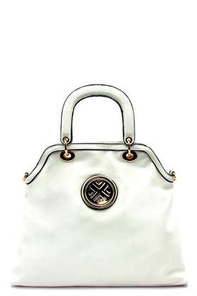 White - Symbol Tote Bag