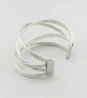 Laser Cut Wire Cuff