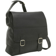 Vertical Laptop Messenger Bag