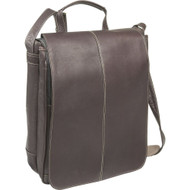 "15"" Vertical Laptop Messenger Bag"