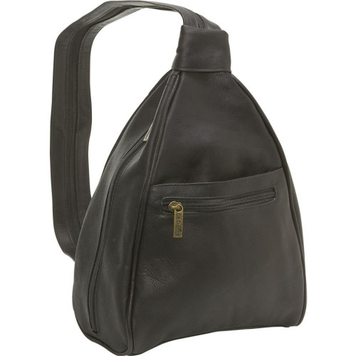 Ladies Sling Backpack / Purse - LeDonne Leather Co.