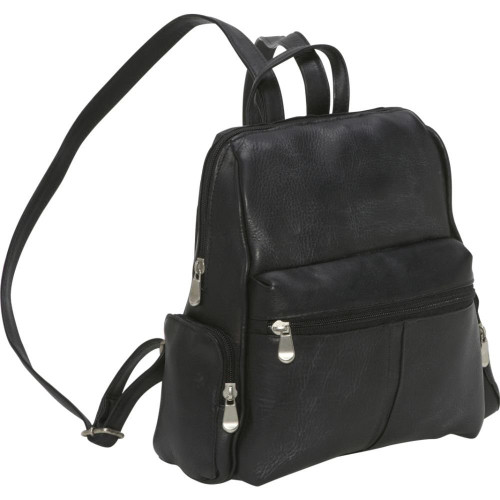 Zip Around 4 Pocket Women's Backpack - LeDonne Leather Co.