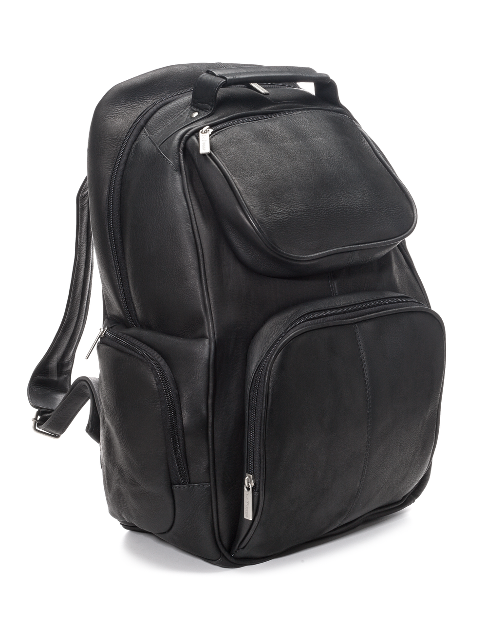 "Multi Pocket 16"" Laptop Backpack - LeDonne Leather Co."