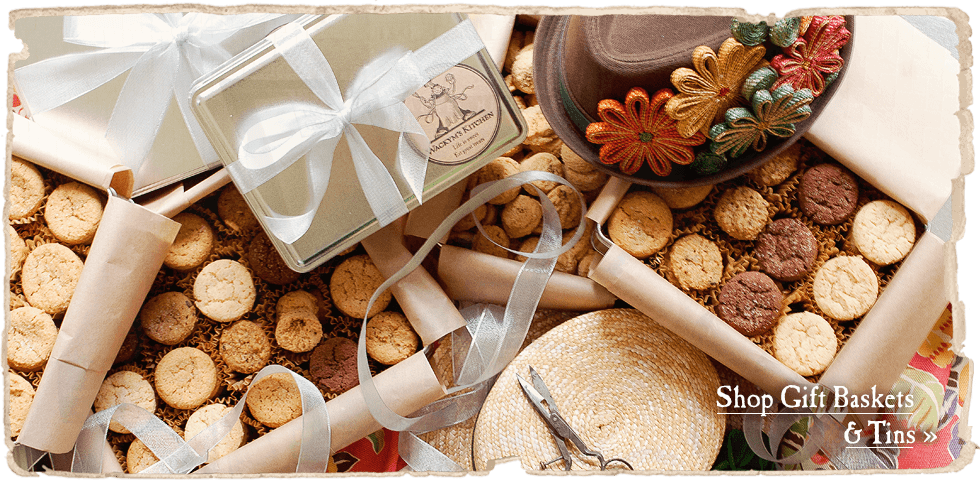 Gift baskets and tins