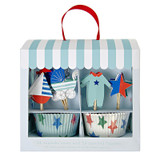 Meri Meri Baby Shop Blue Cupcake Kit