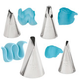 Wilton 4pc Ruffles Tip Set