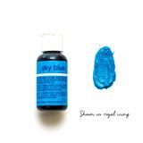 Chefmaster Liqua-Gel SKY BLUE (0.70oz)