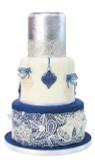 BELLS & BOWS 3D Cake Lace Mat - by Claire Bowman