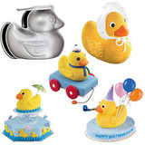 Wilton 3-D Rubber Ducky Set Pan